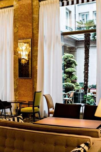 gourmet one Michelin-starred restaurant