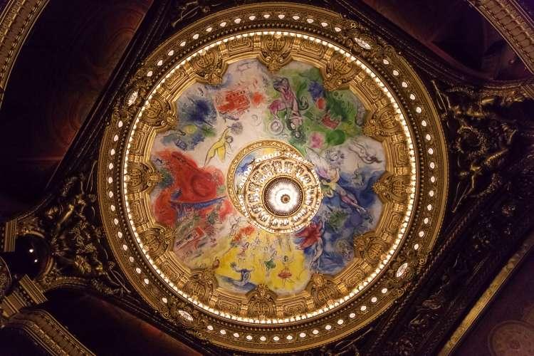 The Palais Garnier, Opera de Paris, architectural details