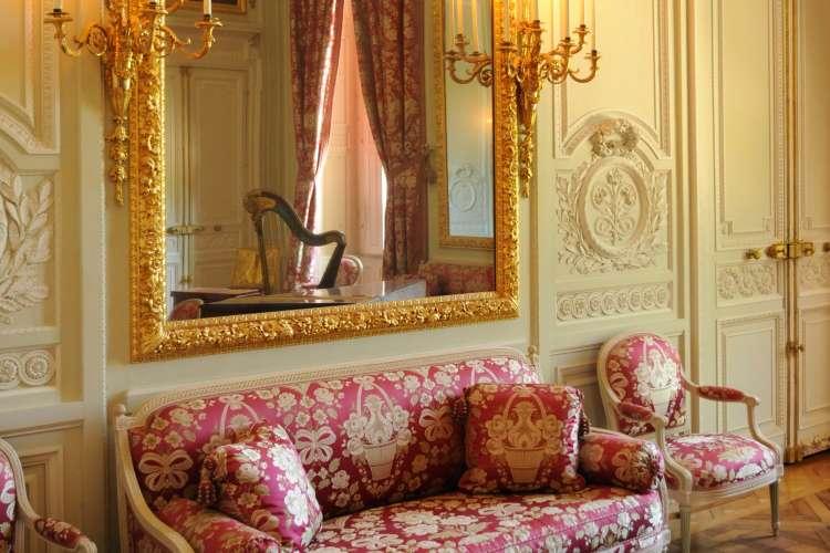 salon au Petit Trianon à Versailles