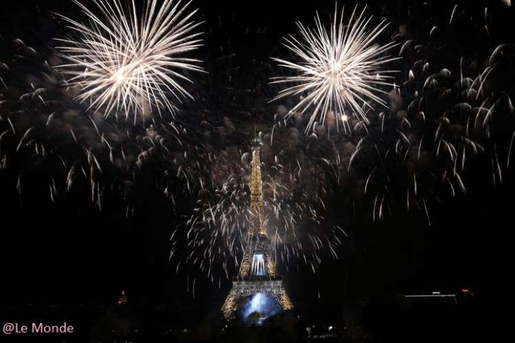 National Day in Paris July 14th 2015