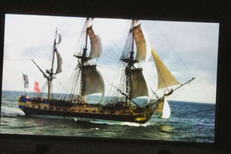 """Press Preview of the documentary film: """"L'Aventure Hermione"""""""