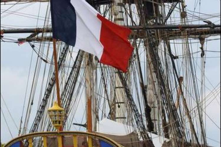 Exceptional Dinner on board the Hermione Saint Malo Independence day Lafayette Hermione event dinner