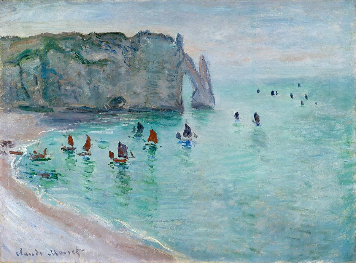 Les impressionnistes en Normandie: l'atelier en plein air