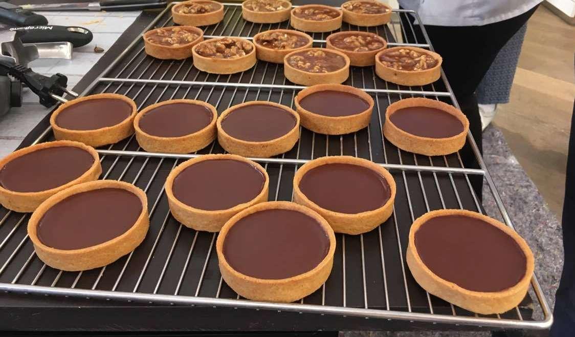 Tartes au chocolat J. Genin