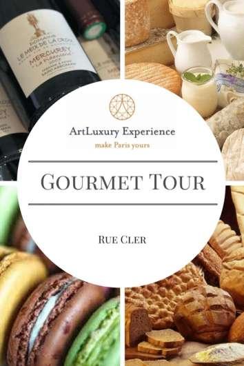 Gourmet Tour rue Cler