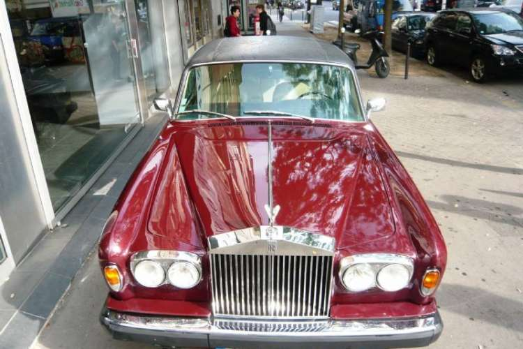 Rolls Royce Silver Wraith Limousine 2 1978