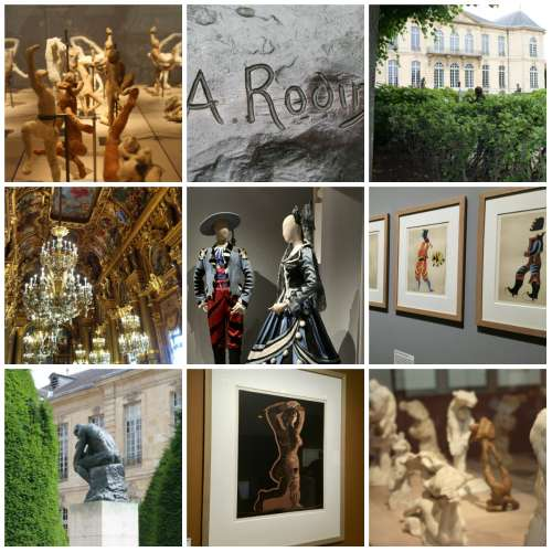 Dancing with Picasso and Rodin
