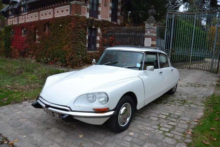 City tour in vintage cars DS
