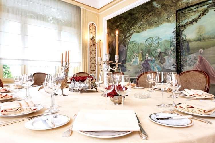 Artluxury Lasserre Michelin star