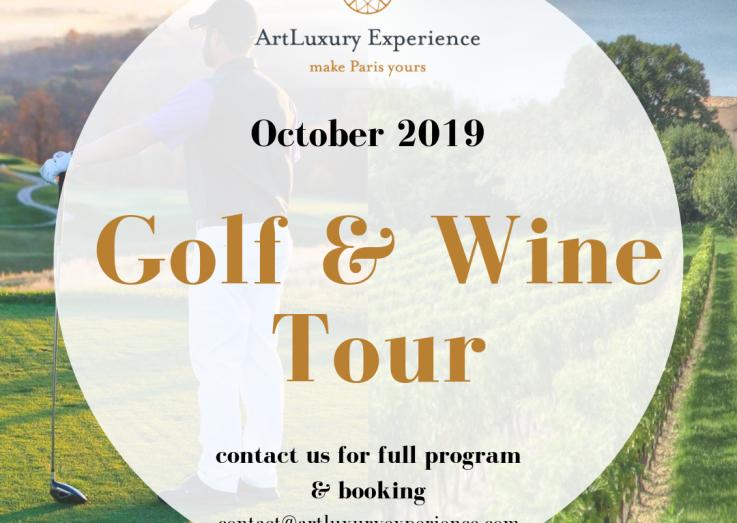 Golf & Wine Tour PARIS - BORDEAUX