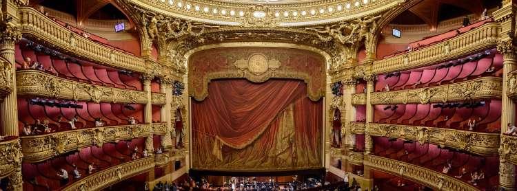 Scène Opéra Garnier