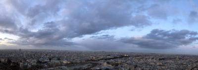 Vue Eiffel Tower