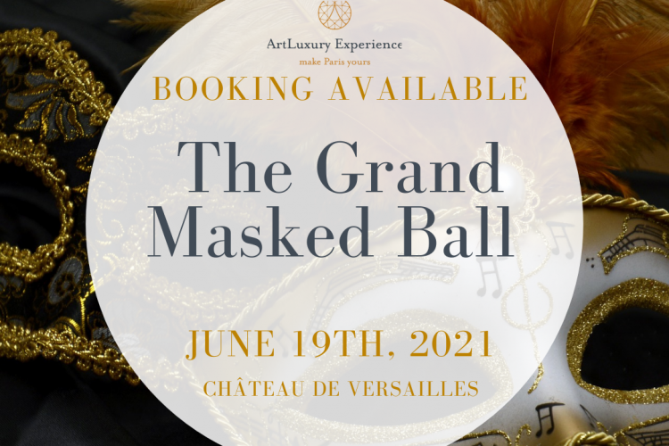 Invitation to book a ticket for The Grand Masked Ball
