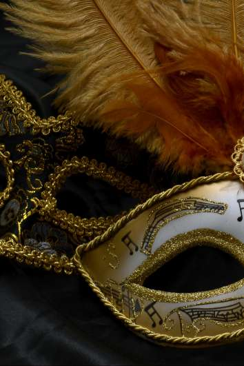 Mask for Masked Ball in Versailles
