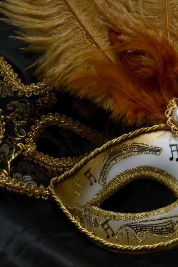 Mask for Masked Ball at Versailles in June