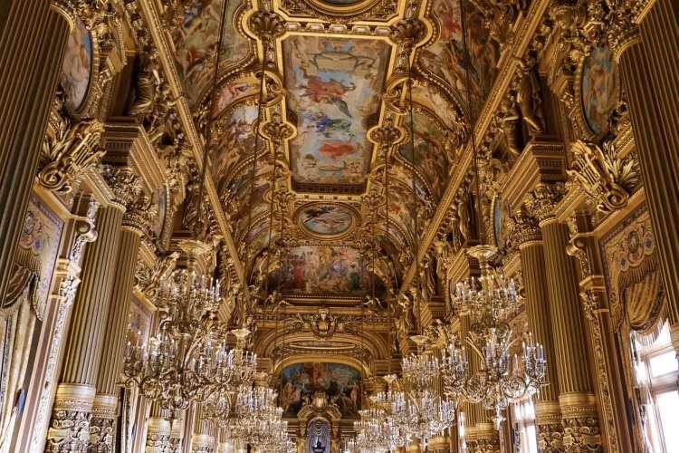 Galerie des Glaces Palais Garnier
