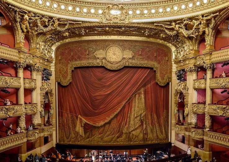 Auditorium in Palais Garnier